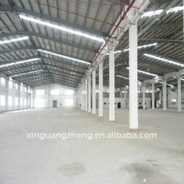 gable steel structure frame modular warehouse building construction costs #1 image