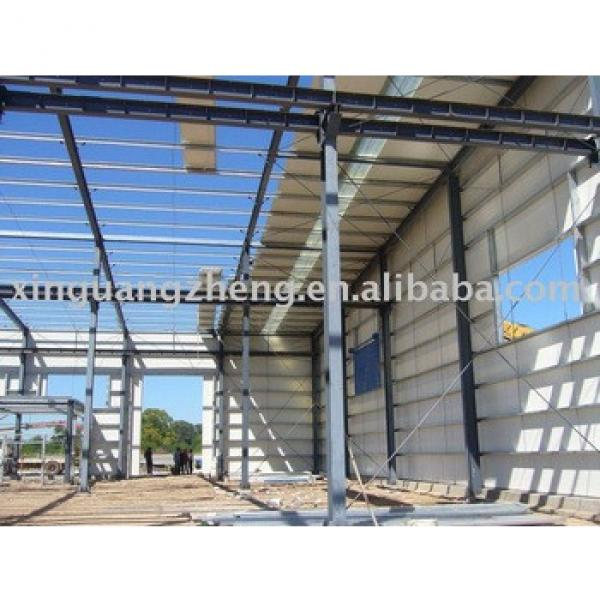 gable steel structure frame warehouse #1 image