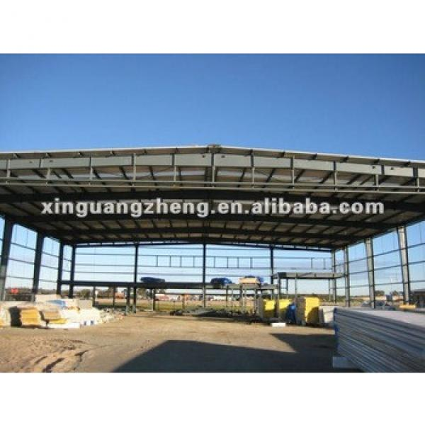 light steel structure warehouse shed with insulation and strong seismic and wind resistance #1 image