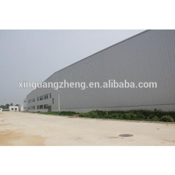Prefab light steel structure logistics warehouse #1 image