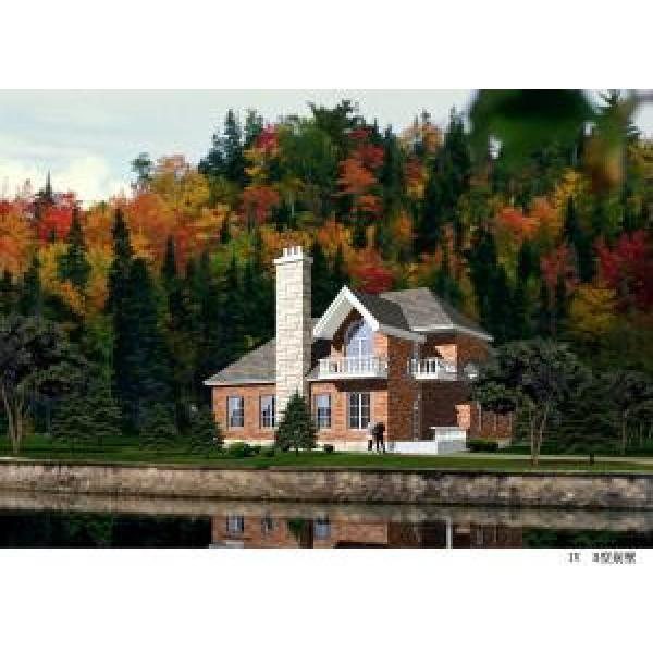 Prefabricated Light Gauge Steel Structure Villa , Steel Prefabricated Houses #1 image