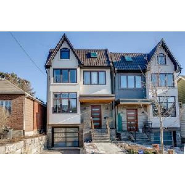 Prefabricated Villa , Luxury Two Storey Light Gauge Steel  Prefab Homes #1 image