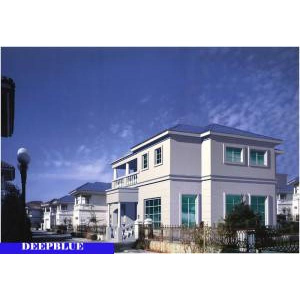 European Style Prefabricated Villa / High Quality Light Steel Fame House #1 image