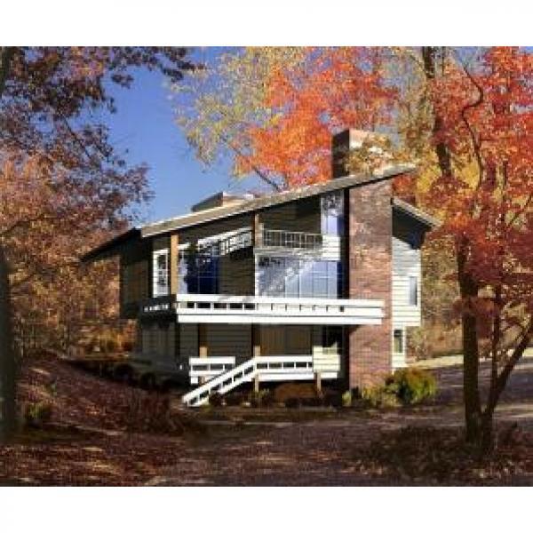 Steel Prefabricated Prefab Villa ,Luxury Architectural Prefab Homes ISO #1 image