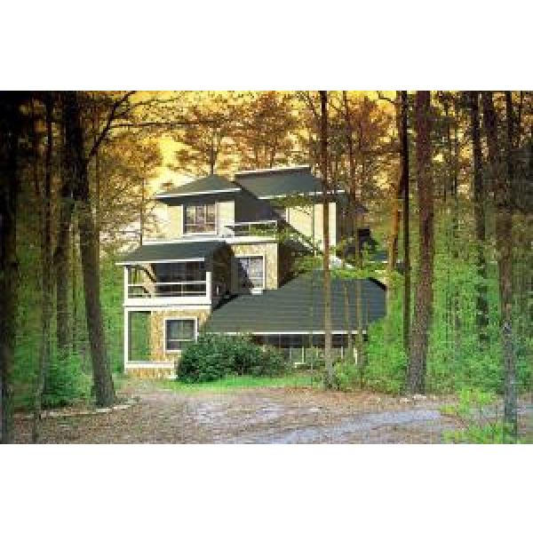 Wind Resist Prefab Villa / Heat Insulation Steel Frame Prefab Homes With Toilet #1 image