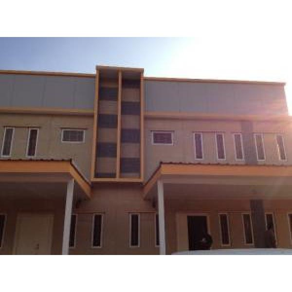 Two In One Prefabricated Villa /Prefab Two Family Houses /earthquake proof #1 image