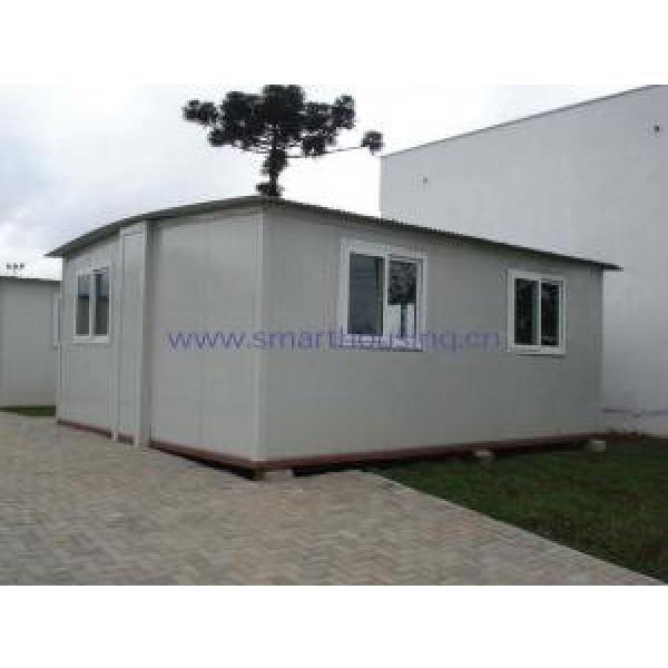 Foldable Modular Prefabricated Housing / White Portable Emergency Housing #2 image
