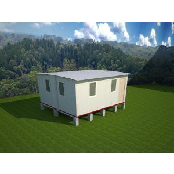 Waterproof Portable Emergency Shelter Foldable House prefabricated Quick Assemble / Sandwich Pane; #1 image