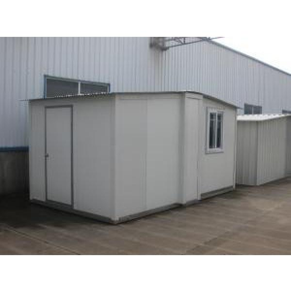 Foldable Movable Portable Emergency Shelter For After-Disaster / Sandwich Panel House #1 image