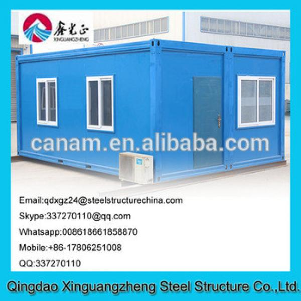 New designed site office container house cost #1 image