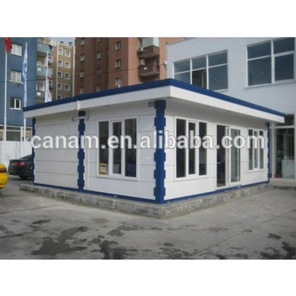 Sandwich panel frame designed police container office plans #1 image