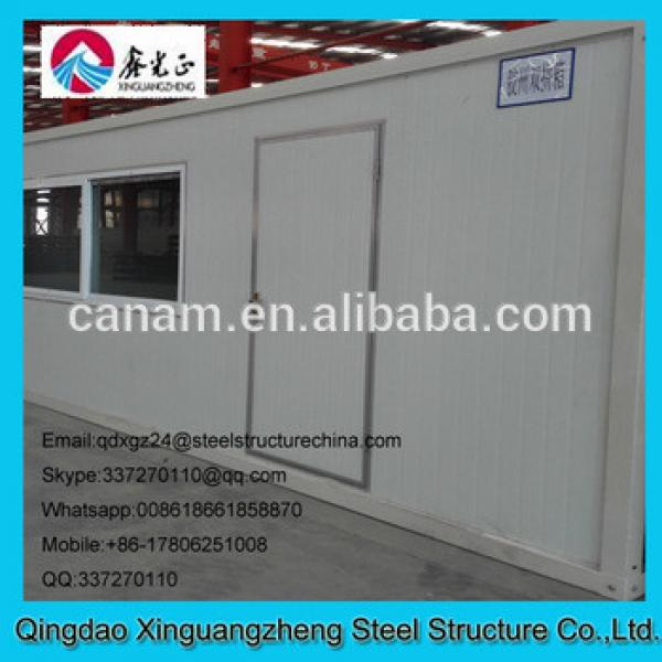 20ft joint flat pack container single door slide window house #1 image