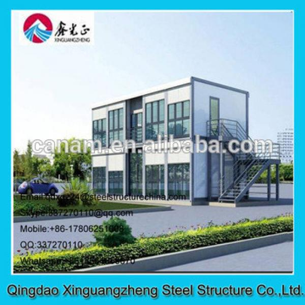 Light steel structure container material prebuilt office #1 image