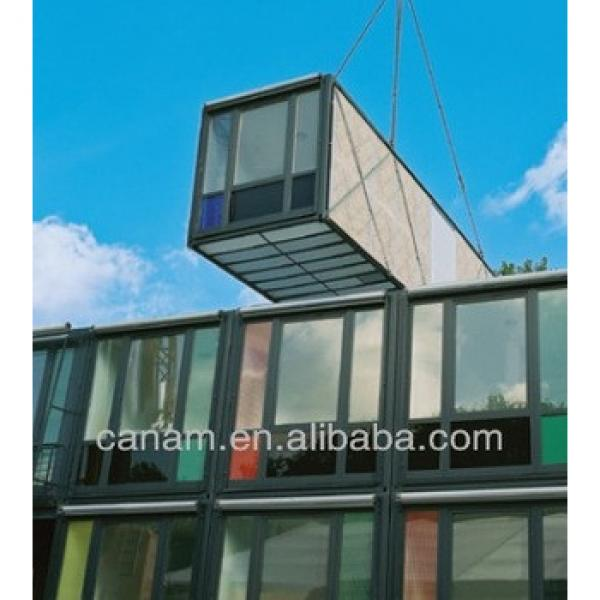 20ft modular steel container offices, custom design #1 image