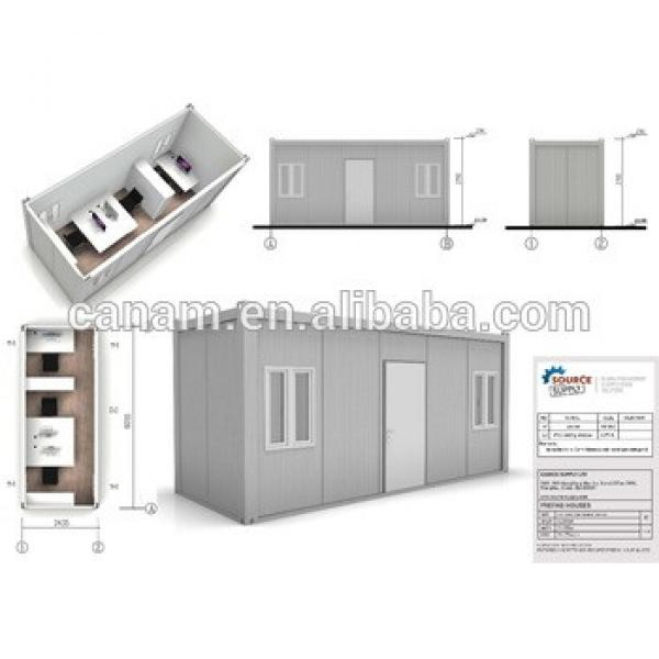 CANAM-Prefabricated portable cabin #1 image