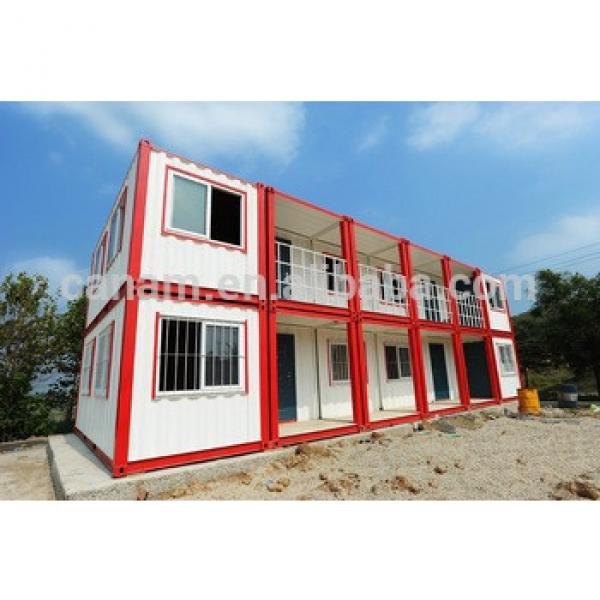 high quality and best price moduler prefabricated sandwich panel container house for dormitory #1 image