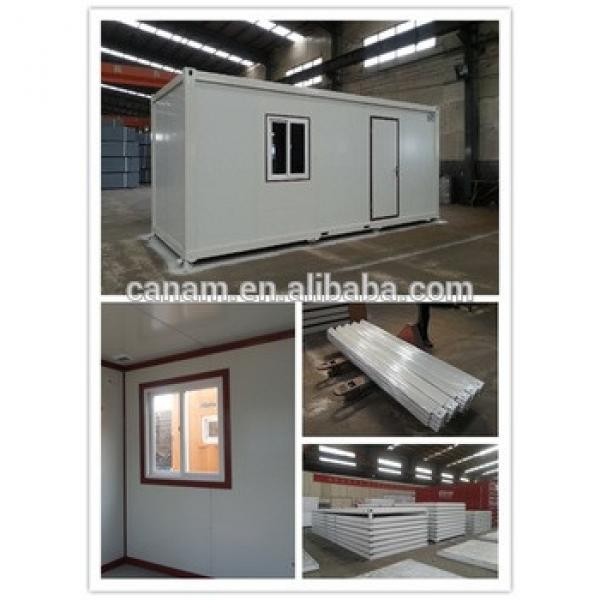 Movable prefab assemble and disassemble container house --- Canam #1 image