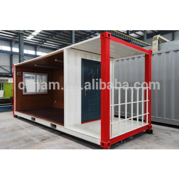 China low cost living flat pack prefab container house container home/container office #1 image