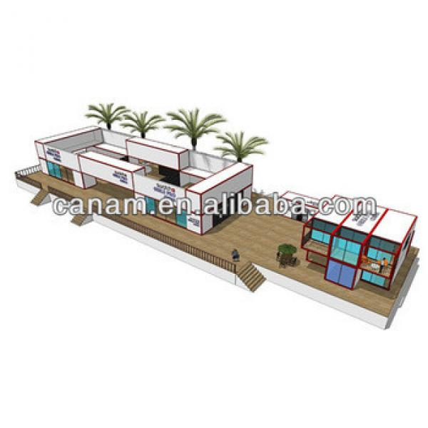 Container solar prefab house for office #1 image