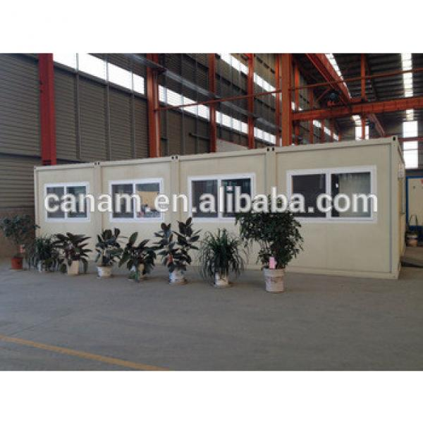 20ft flat pack container office, consist of 4 containers, container homes china #1 image