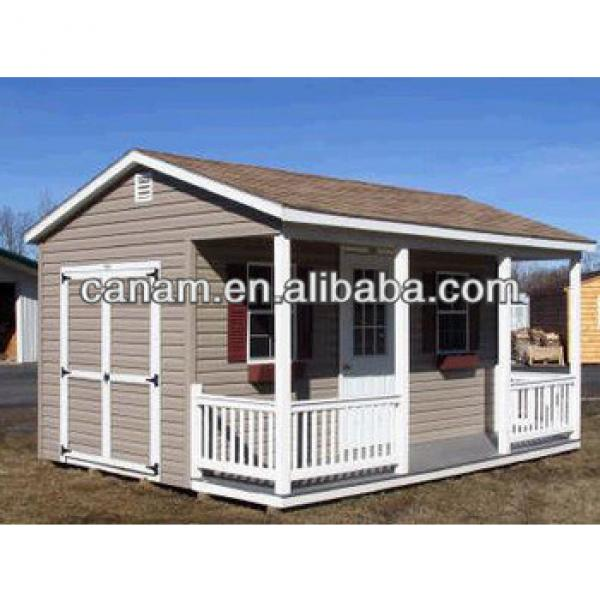 CANAM-20 foot prefabricated steel container house #1 image