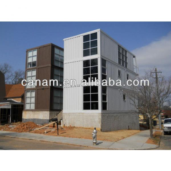 CANAM-stackable 2 storey shipping container house #1 image