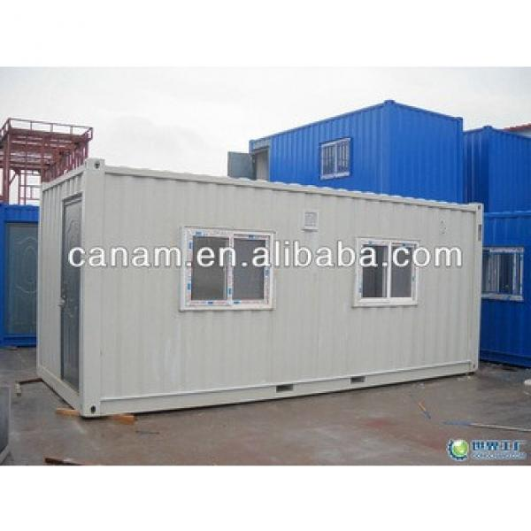 CANAM-galvanized furnished 20ft mobile prefab container house price #1 image