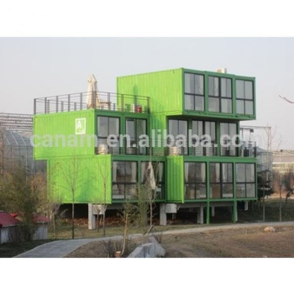 modern qatar labour camp accommodation prefabricated house #1 image