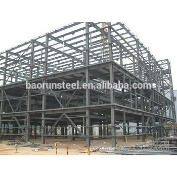 Steel structure apartment Prebricated multi-storey warehouse workshop #1 image