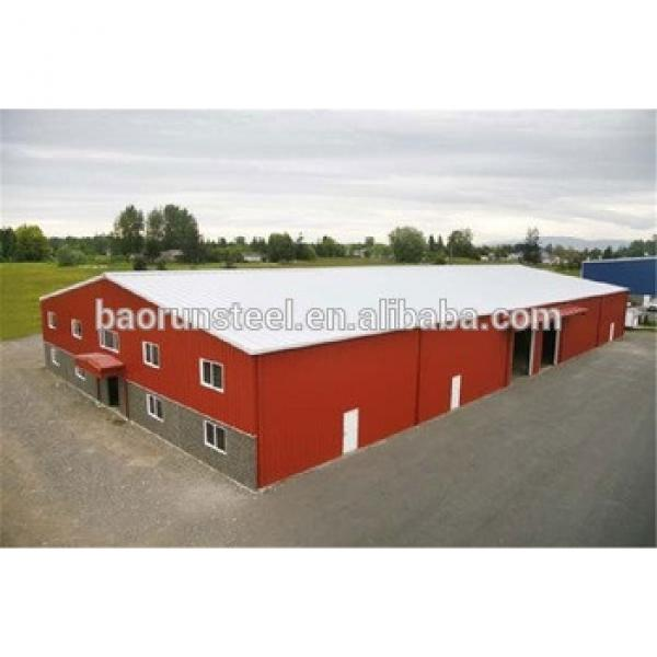 turnkey construction design light steel structure warehouse #1 image
