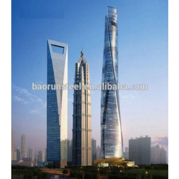 high rise steel structure manufacturer in china #1 image