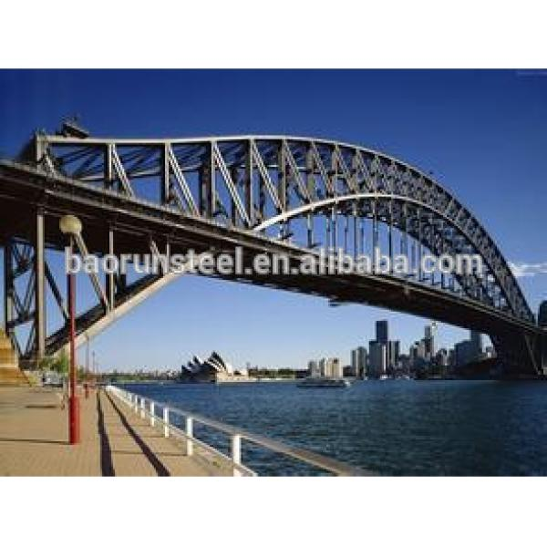 heavy steel structure products/customized steel structure bridge #1 image