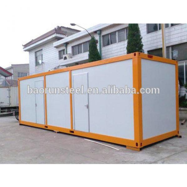 steel structure shipping contain hous #1 image