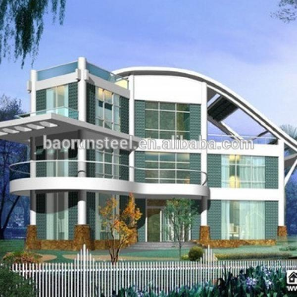 hot sale prefabricated glass house #1 image