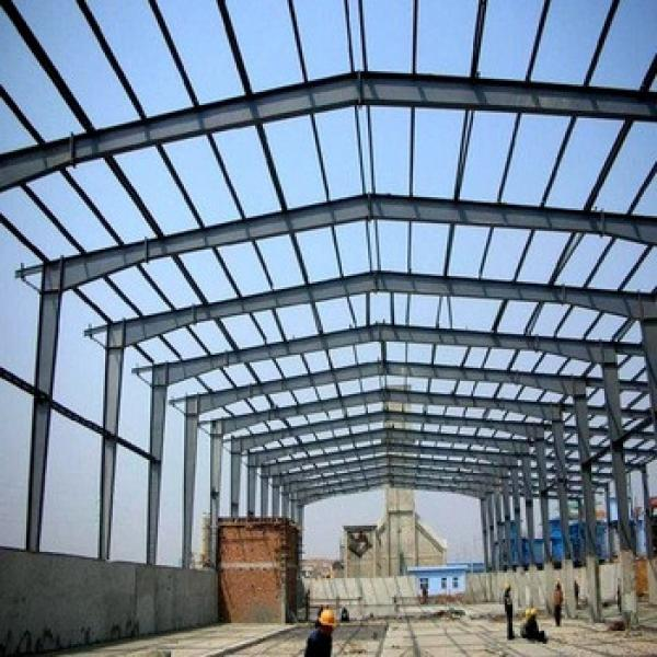 LF frame steel building space frame large span factories steel structure #1 image