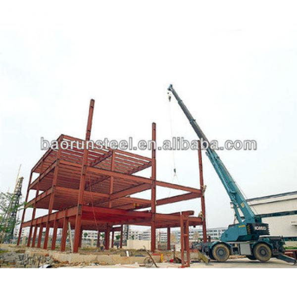 2015 prefabricated steel structure building with chinese Brand #1 image