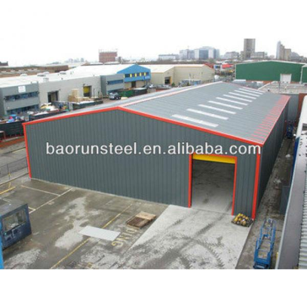 20*100m easy to build prefab steel strucuture warehouse #1 image