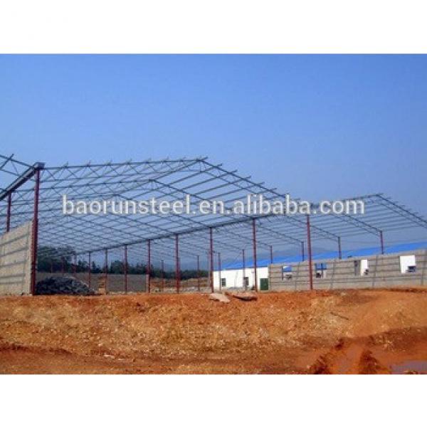 Excellent quality multipurpose economical prefabricated light steel structure warehouse/workshop/building #1 image