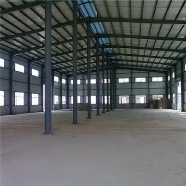 Quick cosntruction 40m span economical steel structure for factory building #1 image