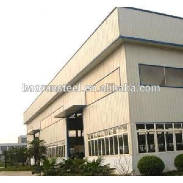 2015 high quality environmental color steel structure prefabricated workshops #1 image