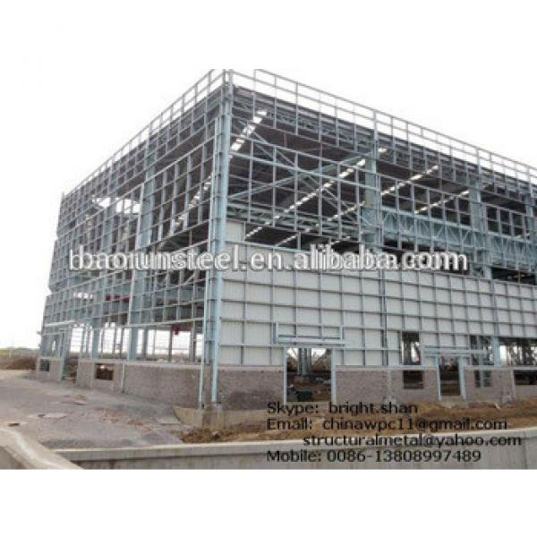 ISO 9001 portable frame steel buildings #1 image