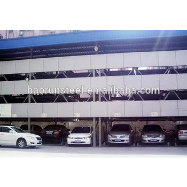 2015 Baorun prefabricated steel structure for car parking workshop for sale #1 image