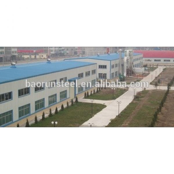 professional design prefabricated steel structures for factory #1 image