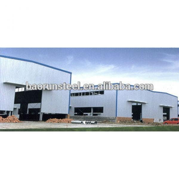 2015 hot sell cost saving design steel structure workshop #1 image