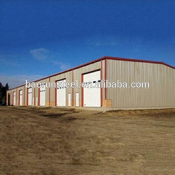 High quality easy to build prefab steel structure for car parking #1 image