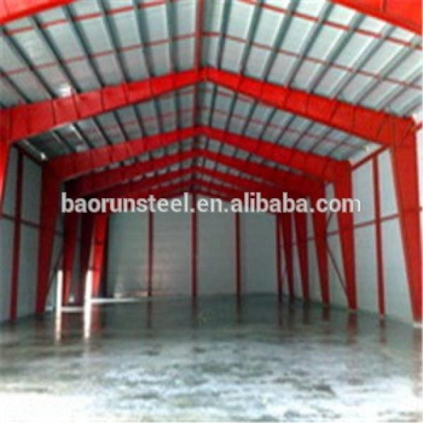 Mobile security house and standard guard house prefabricated steel structure warehouse #1 image