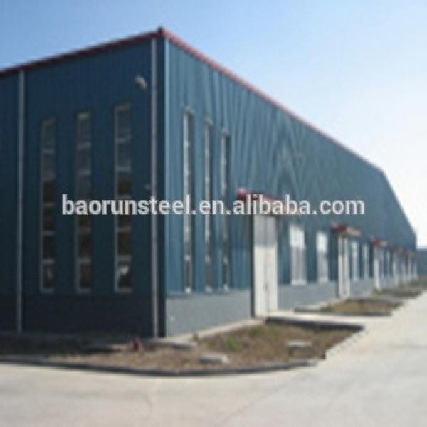 High quality prefabricate steel structure socks warehouse #1 image