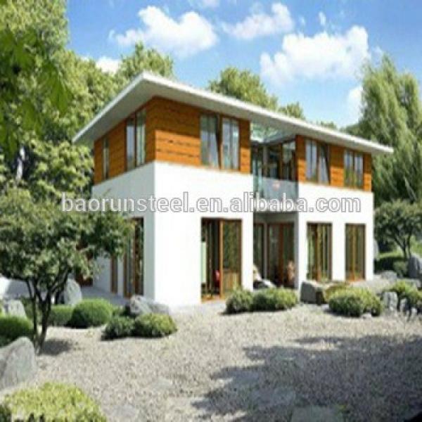 luxury prefab house steel villa prefab beach villa prefabricated fiberglass houses and villas #1 image