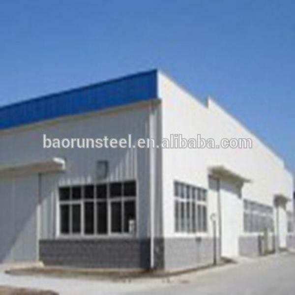 Two floors prefabricated house & modern design steel structure building houses #1 image