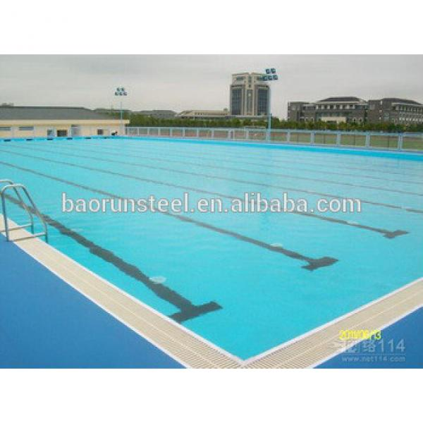 2015 made in china steel structure closed swimming pool #1 image